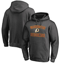 Washington Redskins Pro Line Big & Tall Victory Arch Pullover Hoodie - Charcoal