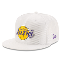 Los Angeles Lakers New Era 2017 NBA Draft Official On Court Collection 59FIFTY Fitted Hat - White