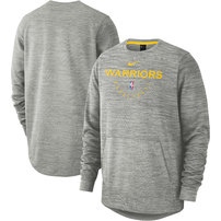 Golden State Warriors Nike Spotlight Pullover Sweatshirt – Heathered Gray