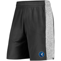 Minnesota Timberwolves Fanatics Branded Made to Move Shorts - Black