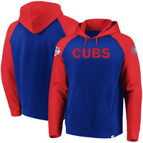 Chicago Cubs Majestic With Attitude Pullover Hoodie – Royal
