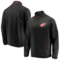 Detroit Red Wings Fanatics Branded Authentic Pro Rinkside Full-Zip Jacket – Black