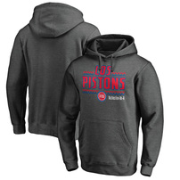 Detroit Pistons Fanatics Branded Noches Ene-Be-A Pullover Hoodie – Heather Gray