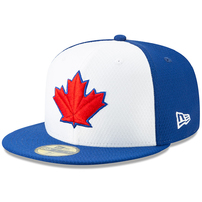 Toronto Blue Jays New Era 2019 Batting Practice 59FIFTY Fitted Hat - White/Blue