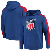 Fanatics Branded NFL Iconic Blocked Pullover Hoodie – Royal/Red