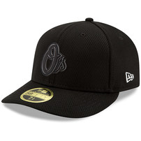 Baltimore Orioles New Era Clubhouse Collection Low Profile 59FIFTY Fitted Hat - Black