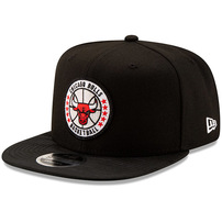 Chicago Bulls New Era 2018 Tip-Off Series High Crown 9FIFTY Adjustable Hat – Black
