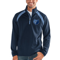 Memphis Grizzlies G-III Sports by Carl Banks High Impact Half-Zip Pullover Jacket – Navy