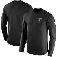Oakland Raiders Nike Modern Long Sleeve Sweatshirt - Black