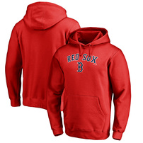 Boston Red Sox Fanatics Branded Big & Tall Team Lockup Pullover Hoodie – Red
