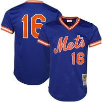 Dwight Gooden New York Mets Mitchell & Ness Cooperstown Mesh Batting Practice Jersey - Royal