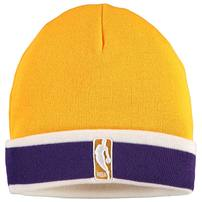 Los Angeles Lakers Mitchell & Ness League Team Stripe Beanie – Yellow