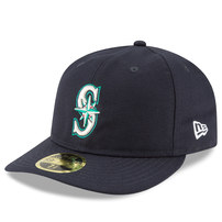 Seattle Mariners New Era Fan Retro Low Profile 59FIFTY Fitted Hat - Navy