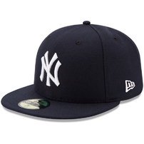 New York Yankees New Era Youth Authentic Collection On-Field Game 59FIFTY Fitted Hat - Navy