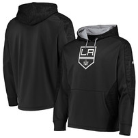 Los Angeles Kings Majestic Armor Therma Base Pullover Hoodie – Black/Gray