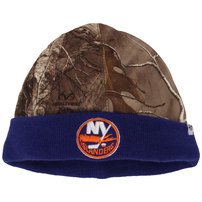 New York Islanders '47 Real Tree Foxden Cuffed Knit Hat - Camo/Royal
