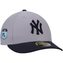 New York Yankees New Era 2017 Spring Training Diamond Era Low Profile 59FIFTY Fitted Hat - Gray