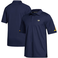 Nashville Predators adidas Game Day climalite Polo - Navy
