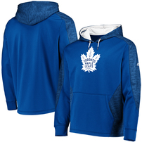 Toronto Maple Leafs Majestic Armor Therma Base Pullover Hoodie – Blue/White