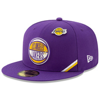 Los Angeles Lakers New Era 2019 NBA Draft 59FIFTY Fitted Hat - Purple