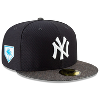 New York Yankees New Era 2019 Spring Training 59FIFTY Fitted Hat – Navy/Heather Gray