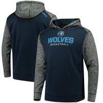 Minnesota Timberwolves Fanatics Branded Static Fleece Pullover Hoodie - Navy