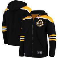 Boston Bruins Fanatics Branded Breakaway Full-Zip Hoodie - Black
