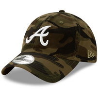 Atlanta Braves New Era Core Classic 9TWENTY Adjustable Hat - Camo