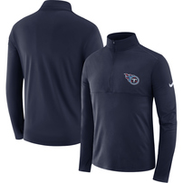 Tennessee Titans Nike Fan Gear Element Half-Zip Performance Jacket – Navy