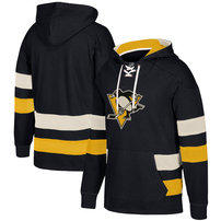 Pittsburgh Penguins CCM Jersey Pullover Hoodie - Black
