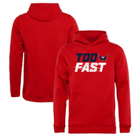 Washington Capitals Fanatics Branded Youth Too Fast Pullover Hoodie – Red