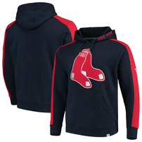 Boston Red Sox Fanatics Branded Alternate Logo Iconic Fleece Pullover Hoodie - Navy/Red