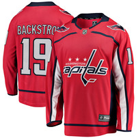 Nicklas Backstrom Washington Capitals Fanatics Branded Breakaway Player Jersey - Red