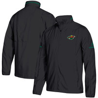 Minnesota Wild adidas Rink Full-Zip Jacket – Black