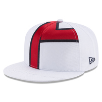 Francisco Lindor Cleveland Indians New Era Player Authentic Jersey V2 9FIFTY Snapback Adjustable Hat – White