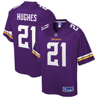Mike Hughes Minnesota Vikings NFL Pro Line Player Jersey – Purple
