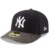 New York Yankees New Era 2019 Batting Practice Road Low Profile 59FIFTY Fitted Hat - Navy/Heather Gray