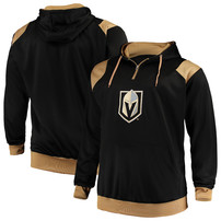 Vegas Golden Knights Majestic Big & Tall Fleece Hoodie – Black/Gold