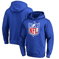 NFL Pro Line by Fanatics Branded NFL Shield Primary Logo Pullover Hoodie – Royal