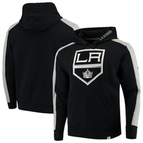 Los Angeles Kings Fanatics Branded Iconic Fleece Pullover Hoodie - Black/Gray