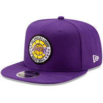 Los Angeles Lakers New Era 2018 Tip-Off Series High Crown 9FIFTY Adjustable Hat – Purple