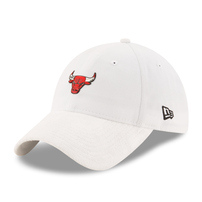 Chicago Bulls New Era 2017 NBA Draft Official On Court Collection 9TWENTY Adjustable Hat - White