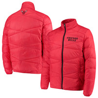 Chicago Bulls G-III Sports by Carl Banks Blitz Full-Zip Packable Jacket – Red