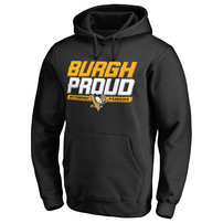 Pittsburgh Penguins Hometown Collection Burgh Proud Pullover Hoodie - Black