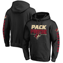 Arizona Coyotes Hometown Collection Pullover Hoodie - Black