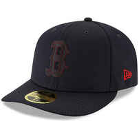 Boston Red Sox New Era 2019 Clubhouse Collection Low Profile 59FIFTY Fitted Hat – Black