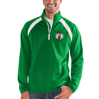 Boston Celtics G-III Sports by Carl Banks High Impact Half-Zip Pullover Jacket – Kelly Green