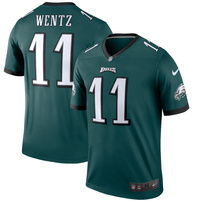 Carson Wentz Philadelphia Eagles Nike Legend Jersey – Green