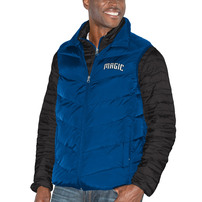 Orlando Magic G-III Sports by Carl Banks Three & Out 3-in-1 System Full-Zip Vest & Jacket Set - Blue/Black
