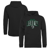 Boston Celtics Fanatics Branded Youth Arch Smoke Pullover Hoodie – Black